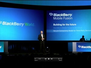 Alan Panezic shows off Citrix Receiver and talks BlackBerry Mobile Fusion at BlackBerry World 2012