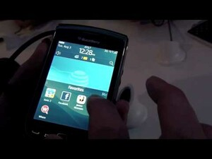 BlackBerry Torch 9800 Hands-On Video First Look!