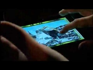 BlackBerry PlayBook demo video from Dive Into Mobile conference