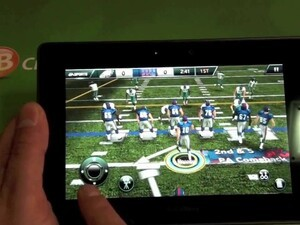 Review: Madden 12 for the BlackBerry PlayBook [video]