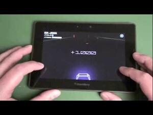 Go old-school with Vector Runner for the BlackBerry PlayBook