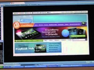 How to turn your website into a BlackBerry PlayBook App in THREE Minutes with the WebWorks SDK
