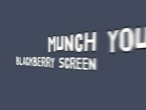 Capture your BlackBerry screen with Screen Muncher - 50 copies up for grabs!