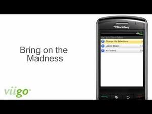 Experience March Madness on Viigo!