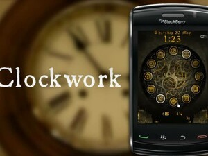 Clockwork - A Premium Animated Theme for your BlackBerry