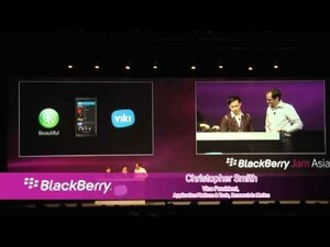 BlackBerry Jam Asia 2012 - Day one highlights [video]
