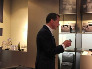 Porsche Design opens their first retail store in Canada and CrackBerry was on location