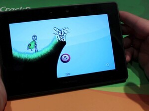 Be the stunt double in Stunt Pear for the BlackBerry PlayBook