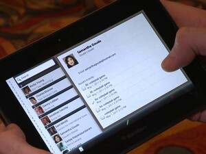 BlackBerry PlayBook Native Email and PIM App Demo Video from BlackBerry World
