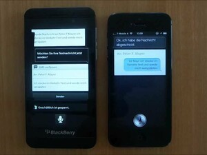 BlackBerry Z10 caught hanging out with an iPhone 5 in latest video