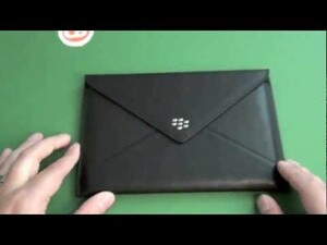 Quick Review: BlackBerry Leather Envelope case for the BlackBerry PlayBook
