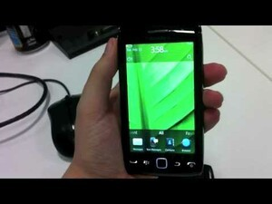 BlackBerry Touch 9860 shows itself in another video