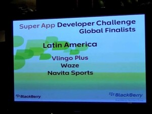 BlackBerry Developers Challenge regional winners announced