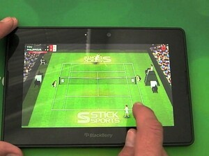 Anyone for a game of tennis? Stick Tennis comes to the BlackBerry PlayBook