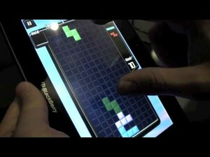 New BlackBerry PlayBook Video - showing off Need for Speed, Tetris and more!