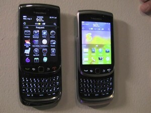 BlackBerry touchscreen evolution: Comparing the Torch 9810, 9850 / 9860 to the Torch 9800 and Storm 2