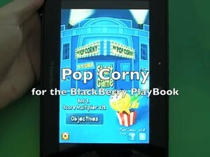 Get shooting the corn with Pop Corny for the BlackBerry PlayBook
