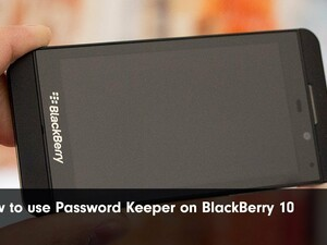 BlackBerry rolls out update to Password Keeper on BlackBerry 10