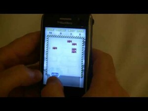Video: BrickBreaker on the BlackBerry Storm!