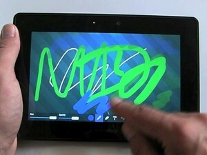 A hands-on look at DrawingBoard Pro for the BlackBerry PlayBook