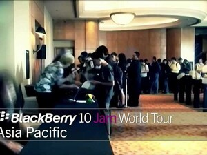 BlackBerry 10 Jam World Tour: Asia Pacific 2012 highlights [video]