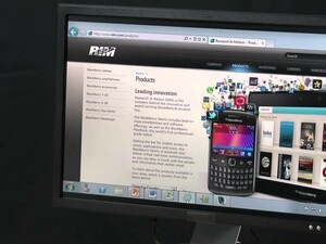 Using Citrix Receiver on your BlackBerry PlayBook to replicate a desktop workspace