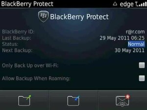 A quick look at the new BlackBerry Protect options coming with BlackBerry 7