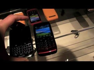 BlackBerry Bold 9650 and Pearl 3G Hands-On Video