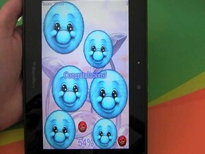 Can the blue guys beat the red ones in Fillit for the BlackBerry PlayBook?