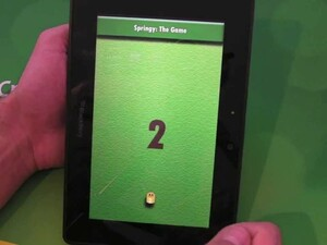 Master your reflexes with Springy for the BlackBerry PlayBook