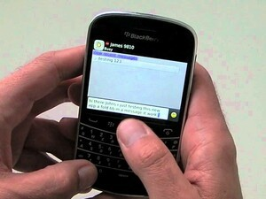 Convert voice to text simply with Voice Chat for BBM - available for BlackBerry smartphones