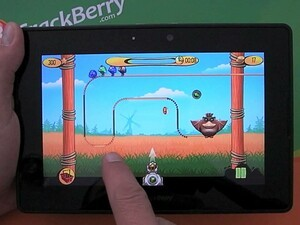 Get your shooting action on with Birds on a Wire for BlackBerry PlayBook