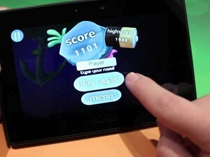 Light up the caves with Light it Up for the BlackBerry PlayBook