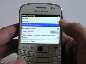 How to enable Memory Cleaning on your BlackBerry smartphone