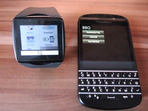 Qualcomm Toq BlackBerry 10 app in the works