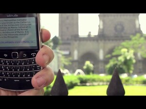 Take a tour with the BlackBerry Bold 9900