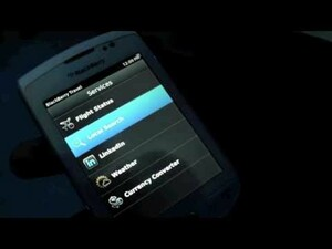 Video Demo of the new BlackBerry Travel App