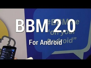 A hands-on look at BBM 2.0 for Android and iOS - Channels, voice calls, location sharing, and more!