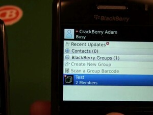 A Quick Look at BlackBerry Messenger Groups