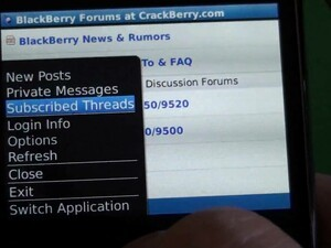 Contest: BerryBlab Makes Browsing vBulletin Forums Friendly in a BlackBerry App; 50 Free Copies Up for Grabs!
