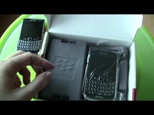 BlackBerry Bold 9700 Unboxing Video