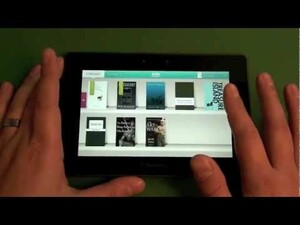 Quick Review: Kobo for the BlackBerry PlayBook