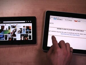 Fighting Fire with Facts: RIM posts BlackBerry PlayBook vs. Apple iPad Web Browser Comparison Video