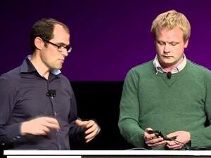Anders Larsson demos Cascades at BlackBerry 10 Jam