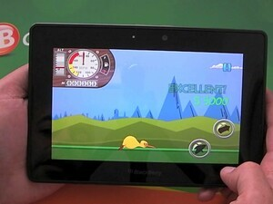 Can you get Kiwi accross the globe? Give it a shot with Fly Kiwi Fly for the BlackBerry PlayBook