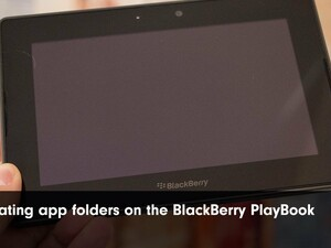 Creating application folders on the BlackBerry PlayBook OS 2.0 software and BBX devices