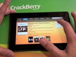 First Look: Video Store on the BlackBerry PlayBook