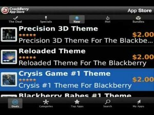 CrackBerry Mobile App Store Client A to Z