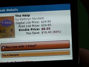 Kindle App for BlackBerry A to Z