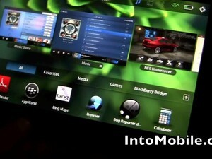 BlackBerry PlayBook gets shown off in portrait mode at SXSW